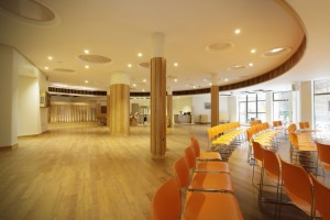 New facilities at the American School in London.